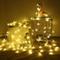 Catena Luminosa, Cascata led, Luci cascata, Strisce LED, 6M, Luci Stringa Bianco Caldo, pe...