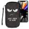 """kwmobile Custodia in Feltro con Zip per Smartphone L - 6,5"""" - Astuccio portacellulare a Sa..."""