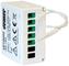 Vemer VE736500 Attuatore Remoto a Radiofrequenza RX.16A per Scatole da Incasso, Bianco