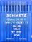 Schmetz, 10 aghi con testa rotonda per macchina da cucire, sistema 134(R), industriali, s...