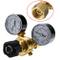 HUKOER Regolatore di Pressione CO2 Argon, Saldatura Mig Tig, 0-315 Bar, per Bombola del Ga...