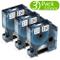 Nastro per Etichette Fimax Compatibile In sostituzione di Dymo D1 45013 S0720530 Nero su B...