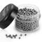 ecooe 1000 Perline per Pulizia, riutilizzabili, in Acciaio Inox, per Decanter, Bottiglie d...