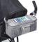 Organizer BTR – Borsa universale per passeggino e carrozzina, Clip da passeggino