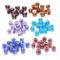 Amasawa 60 Grandi Perle di Vetro,14 mm Foro Acrilico ciondoli Perline Distanziatori con Fi...
