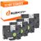 Bubprint 4 nastro a cassetta compatibile per Brother TZE231 TZ-231s e per P-Touch 900 1000...