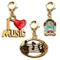 Whimsical regali musica fascino 3PK Bundle (jukebox, i Love Music, lettore CD e cuffie), c...