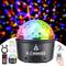 Moukey Luci Discoteca LED luci da palco Palla da discoteca di 9 colori con telecomando Con...