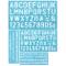 DECARETA 4 Pezzi Kit di Stencil per Lettere e Numeri, Stencil Riutilizzabili Lettere, Sten...