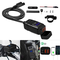 M-PENG - Presa USB per Moto Impermeabile 3.0 Fast Charger Dual Power Outlet 12V