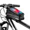 Faireach Borsa Bici Telaio con Supporto per Telefono, Custodia per Cellulare Impermeabile...