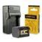 Batteria + Caricabatteria vg121VG 121per JVC Everio-  GZ       GZ-GX1GZ GX3HD510  gz-...