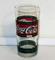 Bicchieri in vetro Coca Cola, stile retrò, Tiffany, vintage, anni '80, nuovi. !