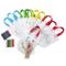 Comius 12 PCS Zaini per Bambini da Colorare. Include 24 PCS Le Cere Colorate Ideale per Re...