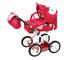 Knorr Toys KNORR63102Combi Ruby Fox Dolls Carrozzina/Passeggino