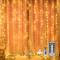 Mitening Tenda luminosa, 300 LEDs Tenda di Luci 3 x 3m Telecomando 8 Modalità di Illuminaz...