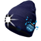ATNKE Berretto Bluetooth con LED Illuminato, USB Ricaricabile Wireless Musicale Cappello d...