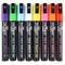 Stationery Island Pennarelli a Gesso Liquido D60 Set Di 8 Neon Colori – 6mm Punta Scalpell...