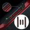Battitacco Auto Esterno Batticalcagno per 500/turbo Abarth 500Ctrekking Panda/Cross Adesiv...