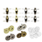 Hysagtek - Set di 40 bottoni magnetici con chiusura a scatto, per cucito, fai da te, lavor...