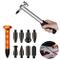 GS 10PCS carrozzeria Paintless Dent strumenti di rimozione aluminum Dent martello con Knoc...