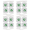 TESMED 16 elettrodi di qualità Superiore mm. 40x40, universali, Adatti a Tutte Le Marche d...