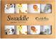 CuddleBug Mussole Neonato Pacco da 4 – Copertina neonato leggera disponibile in 4 design –...