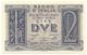 Cartamoneta.com 2 Lire Biglietto di Stato Fascio 14/11/1939 FDS-/FDS