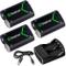 Smatree 2000mAh NI-MH Batteria Ricaricabile (3 pezzi) per Xbox One/Xbox One Elite/Xbox One...