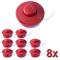 Nemaxx 8X FS2 Bobina con Starter Automatico, Bobina a Doppia Fila, Rullo di Nylon, Accesso...