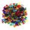 IPOTCH 250 Pezzi di Tessere di Mosaico in Vetro Trasparente Colorato per Artigianato Fai d...
