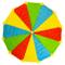 Paracadute ludico color arcobaleno da 365 cm - Con 12 manici | Ore di divertimento assicur...