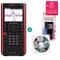 Texas Instruments TI Nspire CX II-T CAS + Garanzia estesa + Pellicola Protettiva + CD di a...