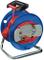 Brennenstuhl 1141740  Avvolgicavo prolunga con spina e presa Garant G, 25 m, Blu/Rosso
