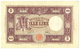 Cartamoneta.com 1000 Lire BARBETTI Grande M Testina BI Repubblica Italiana 12/10/1946 BB/B...