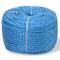 vidaXL Corda Intrecciata in Polipropilene 10 mm Blu Cima Treccia Fune Navale