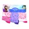 fbadisney nh4437Elsa di Frozen calze rosa/viola/rosa, taglia UK 12–2EU 31–34