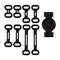Garmin Varia Vision - Set di accessori, supporto di fissaggio e bande
