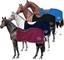 Horses Coprireni Pile Elly Bordeaux 135 cm