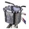 Wiiguda@ Cestino anteriore da bicicletta per animali domestici, con telaio in lega di allu...