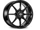 Cerchio in lega, nero opaco, OZ Formula Hlt 4F 7.5x17 ET40 4x108 Serie L