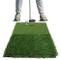 POSMA, HM120, Tappetino Portatile per Golf, con Doppio Tappeto erboso, per Allenamento, 30...