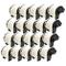 20 Compatibili Rotoli DK-22243 102mm x 30.48m Etichette adesive continuo per Brother P-Tou...