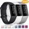 Yandu Cinturino Compatibile con Fitbit Charge 3/ Fitbit Charge 4, Cinturino Sportivi per F...