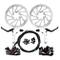 Yorbay Kit Freno a Disco Anteriore/Posteriore Biciclette Impostare MTB di Frenatura a Disc...