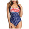 Mbby Costume da Bagno Shaping Donna Intero Push up Halter Trikini a Fascia Monokini Stampa...