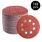 100 pezzi Velcro carta abrasiva, 125 mm mola rotonda per smerigliatrice orbitale – 40-800...