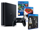 Playstation 4 PS4 Slim Console 500Gb - MEGAPACK 5 Giochi - The Last of us + God of war 3 +...