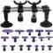 WANYIG Kit di Riparazione per ammaccature, Dent Repair Tool Kit 19PCS Dent Puller Remover...