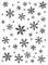 Darice Embossing Folder Mascherina Fiocco di Neve, Plastic, Transparent, 10.7 x 14.6 x 0.4...